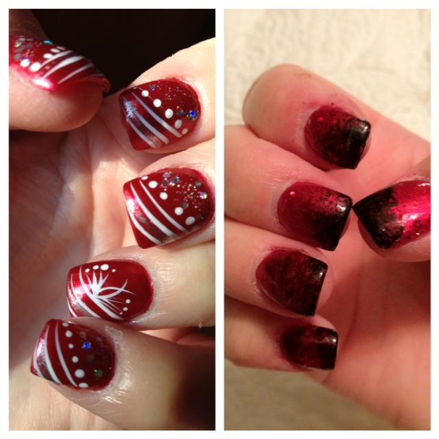 Christmas Nail Design Idea