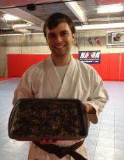 Oreo Fluff Brownies
