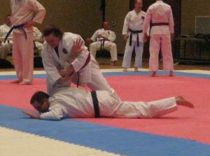 Defense Sets at Black Belt Test