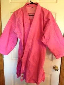 I dyed my gi pink!